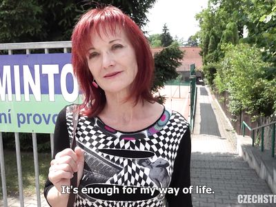 Чешская порно бабулька готова за деньги ебаться прямо на улице с незнакомцем